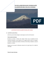 Informe_Zonas de Riesgo Volcan Cotopaxi