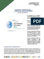 Datos Del Agua en Mexico 2015