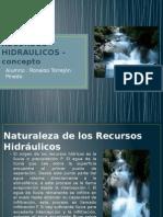 RECURSOS HIDRAULICOS - concepto