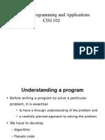 CIM 130 Theory 3