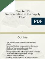 10.Transportation in SCM