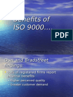 Benefits of ISO