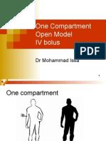 02_One Compartment IV Bolus