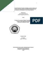 Efektivitas Penerapan Model Pbljran Simulasi & Non Simulasi Pd SMP Di Kec IB I Plg)