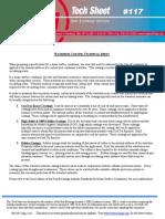 Condenser Water Box LiningTech Sheet