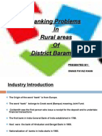 Banking problems in rural areas