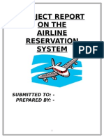 Airline Reservation Project