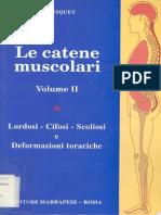 Busquet - Catene Muscolari- Vol. 2