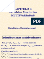 Variables Aleatorias Multivariadas