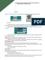 Simulacion de Unidades de Proceso de Reactores Cstr Informe
