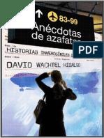 Anecdotas de Azafatas - David Wachtel Hidalgo