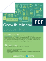 final growth mindset lesson plan  april 2015