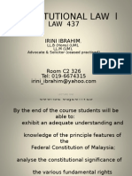 1 Introduction Lecture (Consti 2)