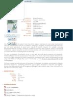 FBBVA - Book - La Práctica Del Análisis de Correspondencias