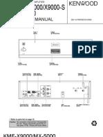 Hfe Kenwood Kmf-x9000 Mx-5000 Service En