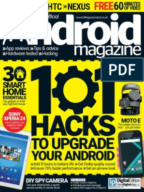 Android Magazine Uk Issue 54 2015 Android Operating
