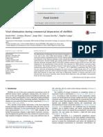 Depuracion de Virus en Moluscos