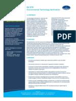 CQY EUETV Environmental Technology Verification Ed01