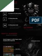 Darkeden Legend - Zentis Dungeon Guide by Lovella Roxas