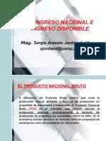 11. El Ingreso Nacional e Ingreso Disponible