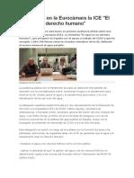 Doc183081 Presentada en La Eurocamara La ICE El Agua Es Un Derecho Humano