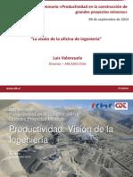 La Vision Oficina Ingenieria Luis Valenzuela Arcadis