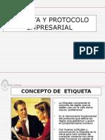 Etiqueta y Protocolo1
