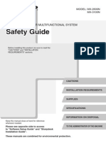 Mx2600n-3100n Om Safety-guide Gb