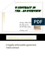 Law of Contract in Malaysia_19.10.2015