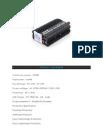 Spesifikasi Inverter