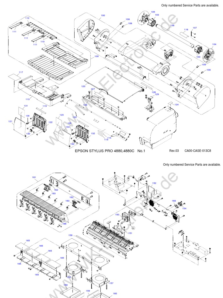Epson stylus pro 4880 parts list fandeluxe Image collections