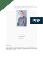 Comentarios a Las Modificaciones Realizadas Por El Decreto Legislativo Nº 1111 y Nº 1122 a La Ley de Los Delitos Aduaneros