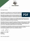 Carta de apoyo de Rubi Solidari al Festival Interpueblos