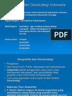 Geopolitik Dan Geostrategi Indoesia
