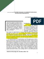 Castorina, J. a. y Barreiro, A. v. (2006). Las Representaciones Sociales y Su Horizonte Ideológico