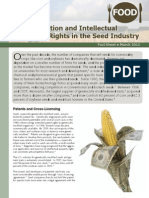 Consolidation and Intellectual Property Rights in the Seed Industry