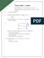 Assignment Pelajar Add Math f4