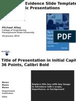 AE Presentation Template