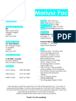 Jobswire.com Resume of pmravn