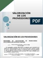 Clase 6.Valorizacion de Proveedores.centralización. Políticas 2015 . Ppt