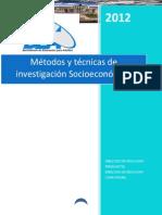 MANUAL METODOS Y TECNICAS DE INVESTIGACION SOCIOECONOMICA