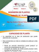8.- Tamaño de Planta