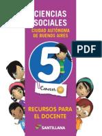 GD Conocer + sociales 5 caba
