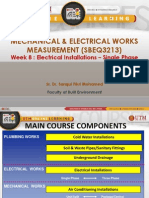 8 Elect Inst Single Phase measurement