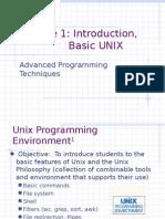 Introduction to Basic Unix