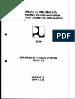 Spesifikasi Khusus Geotextile