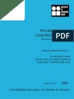 Pavimentos de concreto simple