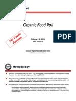 OrganicFood Poll_Public Release_Feb 2010