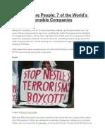Profits Before People (debate topic).docx