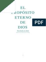 El Proposito Eterno de Dios